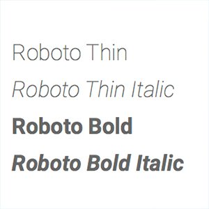 roboto-font Resources
