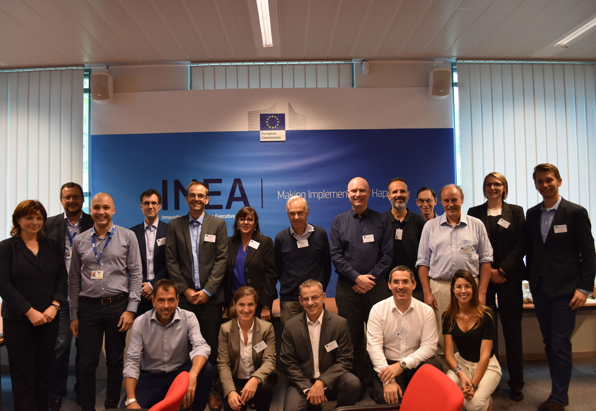 inea-web ROMEO, presents at the 2nd Clustering Meeting for H2020 wind energy projects of INEA